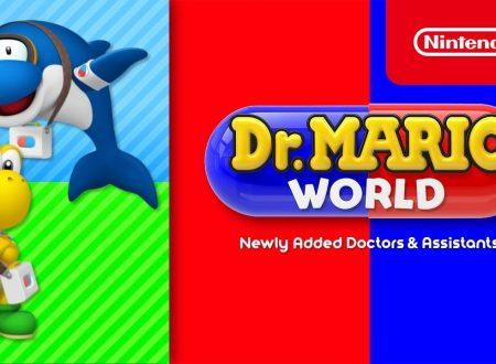 Dr. Mario World: pubblicato un trailer dedicato a Dr. Koopa Troopa e Dr. Delfì