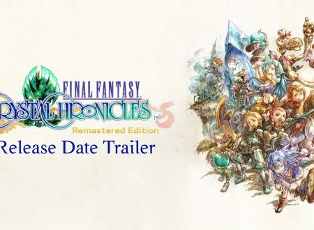 Final Fantasy Crystal Chronicles Remastered: il titolo in arrivo il 27 agosto sui Nintendo Switch europei