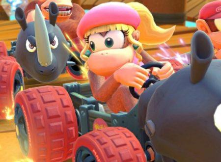 Mario Kart Tour: Dixie Kong ora disponibile nel secondo tubo in evidenza del Tour della Giungla