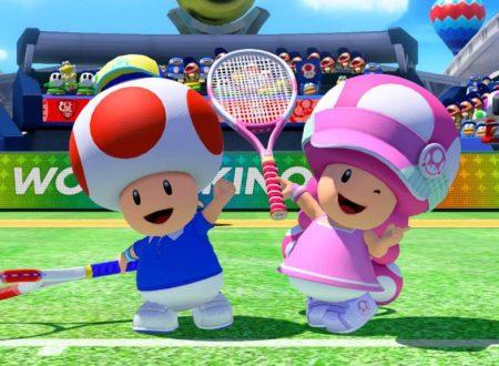 Mario Tennis Aces: il titolo aggiornato alla versione 3.0.2 sui Nintendo Switch europei