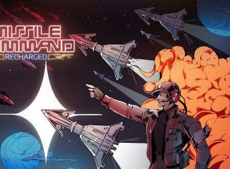 Missile Command: Recharged, il titolo in arrivo il 27 maggio su Nintendo Switch