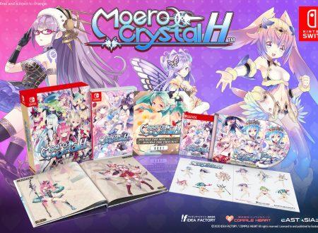 Moero Crystal Hyper: il titolo in arrivo nei prossimi mesi sui Nintendo Switch europei, anche in versione retail