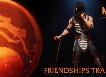 Mortal Kombat 11: Aftermath, pubblicato il nuovo trailer: Friendships, dedicato all'espansione