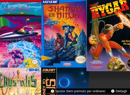 NES – Nintendo Switch Online: l'app aggiornata alla versione 4.4.0 sui Nintendo Switch europei