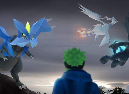 Pokémon GO: annunciato l'arrivo dei leggendari di Unima, Reshiram, Zekrom e Kyurem