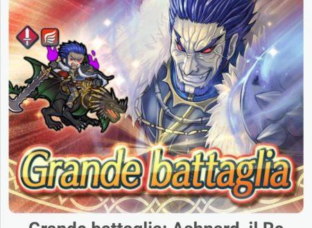 Fire Emblem Heroes: ora disponibile la grande battaglia: Ashnard, il Re Folle