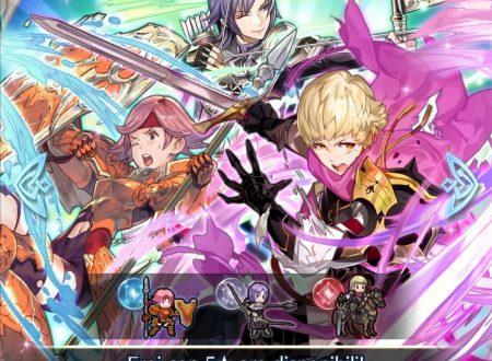 Fire Emblem Heroes: ora disponibile la preferenza evocazione: nuovo potere, con Siegbert, Gwendolyn e Leon