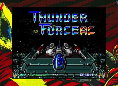 Sega Ages: Thunder Force AC, il classico in arrivo il 28 maggio sui Nintendo Switch europei