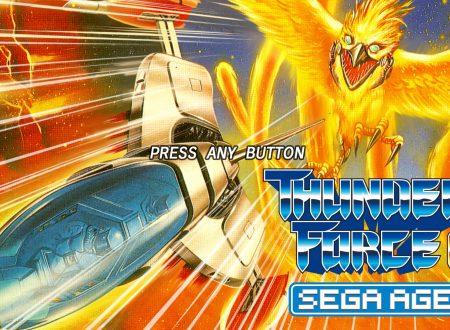 Sega Ages: Thunder Force AC, uno sguardo al classico titolo dai Nintendo Switch giapponesi