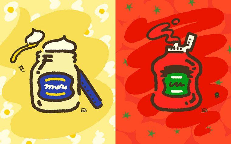 Splatoon 2: svelati i risultati del revival dello Splatfest, Maionese vs. Ketchup