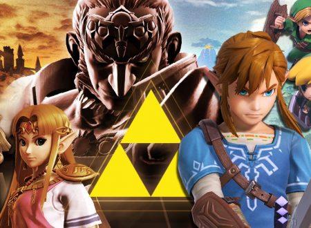 Super Smash Bros. Ultimate: svelato l'arrivo del torneo: Forza Triforza!