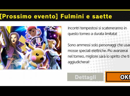 Super Smash Bros. Ultimate: svelato l'arrivo del torneo: Fulmini e saette