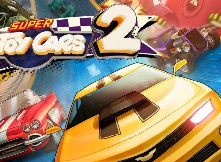 Super Toy Cars 2: il titolo in arrivo il 12 giugno sull'eShop di Nintendo Switch