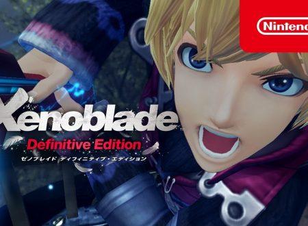 Xenoblade Chronicles: Definitive Edition, pubblicati nuovi trailer promozionali dedicati al titolo