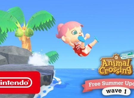 Animal Crossing: New Horizons, annunciato l'arrivo imminente del Summer Update