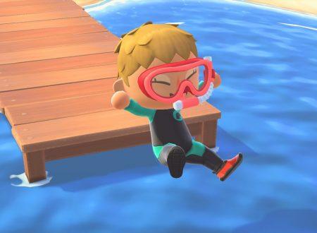 Animal Crossing: New Horizons, pubblicati nuovi screenshots dedicati al Summer Update