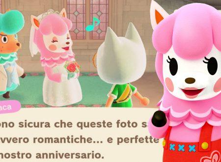 Animal Crossing: New Horizons, uno sguardo alla Stagione dei Matrimoni con Alpaca e Merino