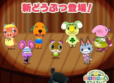 Animal Crossing: Pocket Camp: svelato l'arrivo di sette nuovi animali nel titolo mobile