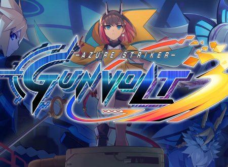 Azure Striker Gunvolt 3, il titolo in sviluppo ed in arrivo prossimamente su Nintendo Switch