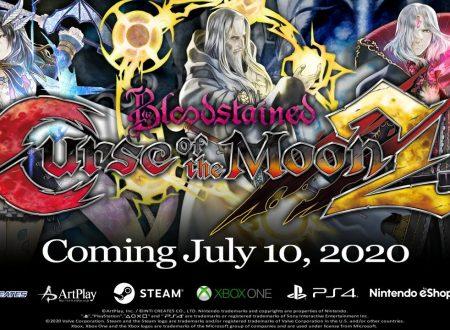 Bloodstained: Curse of the Moon 2, il titolo in arrivo il 10 luglio sull'eShop di Nintendo Switch