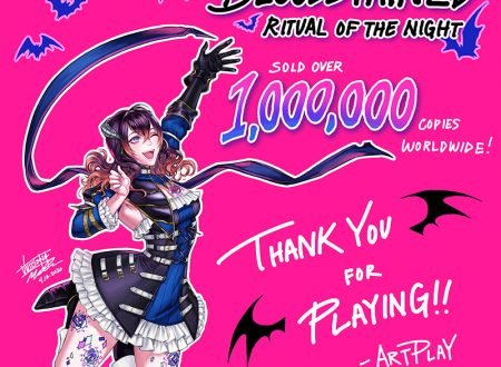 Bloodstained: Ritual of the Night, il titolo raggiunge il milione di copie in tutto il mondo