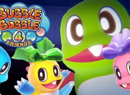 Bubble Bobble 4 Friends: il titolo piazza 100.000 copie vendute su Nintendo Switch