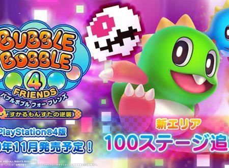 Bubble Bobble 4 Friends: svelati 100 nuovi stage in arrivo con la Skel-Monsta's Counterattack