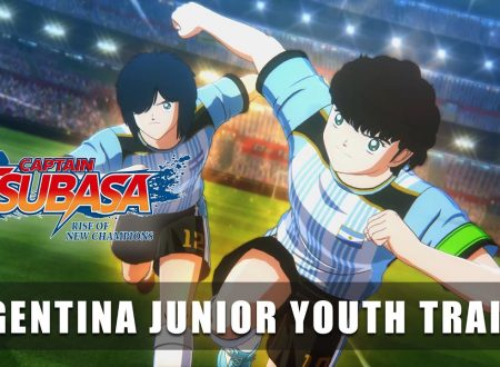 Captain Tsubasa: Rise of New Champions, pubblicato un trailer dedicato all'Argentina Junior Youth team