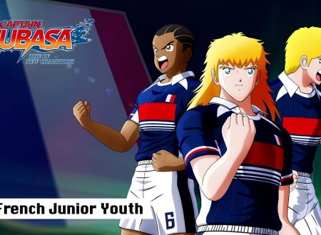 Captain Tsubasa: Rise of New Champions, pubblicato un trailer sulla French Junior Youth