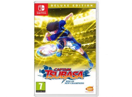 Captain Tsubasa: Rise of New Champions, uno sguardo alla boxart ufficiale del titolo sui Nintendo Switch europei