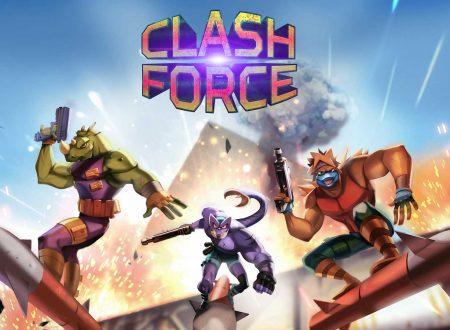 Clash Force: uno sguardo in video al titolo dai Nintendo Switch europei
