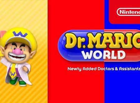 Dr. Mario World: pubblicato un nuovo trailer dedicato a Dr. Baby Wario