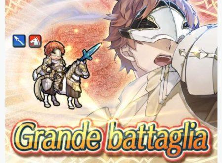 Fire Emblem Heroes: ora disponibile la grande battaglia: Conrad, il cavaliere celato, atto secondo
