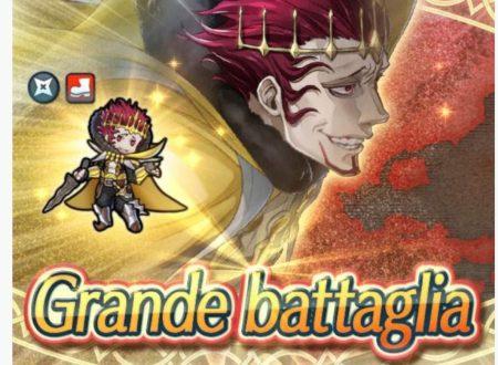 Fire Emblem Heroes: ora disponibile la grande battaglia: Gangrel, il re folle di Plegia