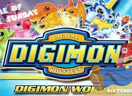 Game of the Sunday – Il gioco della domenica: Digimon World – Tai, Matt, Sora, Izzy, Mimi e Joe – Noi siamo amici, siamo noi, catapultati a Digiworld