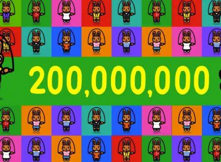 Jump Rope Challenge: raggiunti i 200 milioni di salti dai giocatori di tutto il mondo