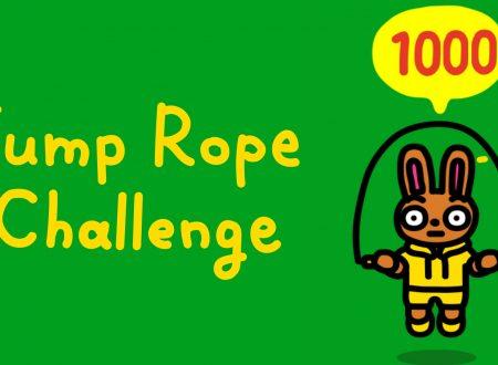 Jump Rope Challenge: uno sguardo in video al titolo dai Nintendo Switch europei