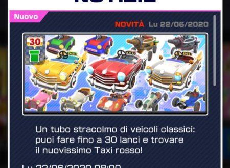 Mario Kart Tour: i veicoli classici sono i protagonisti del secondo tubo in evidenza del Tour di Peach