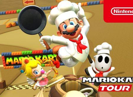 Mario Kart Tour: pubblicato un trailer per il nuovo Tour ai fornelli, ora disponibile