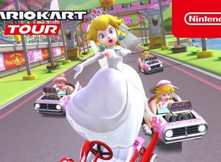Mario Kart Tour: pubblicato un trailer sul nuovo Tour di Peach, ora disponibile