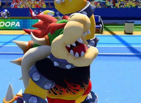 Mario Tennis Aces: ora disponibili i nuovi premi e costumi del mese di giugno 2020