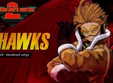 My Hero One's Justice 2: pubblicato il trailer di lancio del DLC dedicato a Hawks