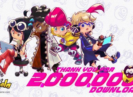 Ninjala: il titolo raggiunge i 2 milioni di download in una settimana su Nintendo Switch