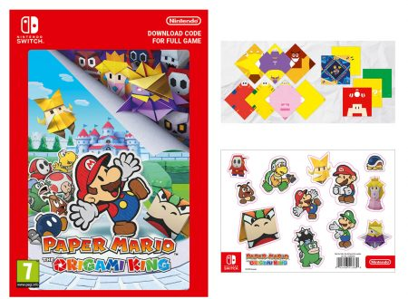 Paper Mario: The Origami King, ora in pre-order con origami e sticker sul Nintendo UK Store