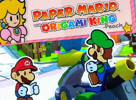 Paper Mario: The Origami King, pubblicate nuove clip ed informazioni in merito al titolo