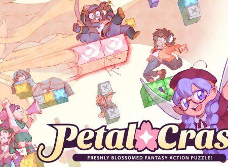 Petal Crash: il puzzle game arcade in arrivo ad agosto su Nintendo Switch