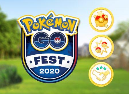 Pokémon GO: svelato l'evento del Pokémon GO Fest 2020 per il quarto anniversario del titolo mobile