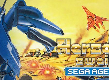 Sega Ages Herzog Zwei, il classico in arrivo il 27 agosto sui Nintendo Switch giapponesi