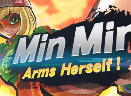 Super Smash Bros. Ultimate: Min Min sarà il personaggio di ARMS in arrivo nel roster