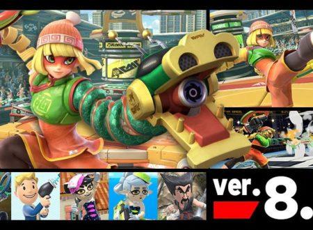 Super Smash Bros. Ultimate: il titolo aggiornato alla versione 8.0.0 su Nintendo Switch